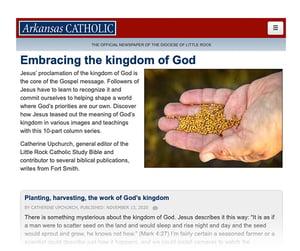 Embracing the Kingdom of God